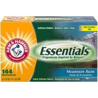 Arm&Hammer 144 szt  Softener Sheets Mountain Rain