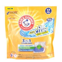 Arm & Hammer 3-in-1 Power Paks Oxi Clean 17 szt. - Kapsułki do prania