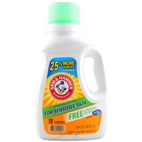 Arm & Hammer For Sensitive Skin 1,47 l 32 prania - Uniwersalny żel do prania tkanin