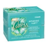 Caress Emerald Rush Lush Gardenia & White Tea Essence 2 X 113 g - Mydło w kostce