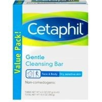 Cetaphil Gentle Cleansing Bar 3 X 127 g - Mydło w kostce
