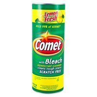 Comet with Bleach Lemon Fresh 595 g - Proszek do czyszczenia