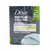 Dove Men + Care Elements Minerals + Sage 2 X 113 g - Mydło w kostce