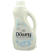 Downy Free&Gentle 1,53 l - Hipoalergiczny płyn do płukania