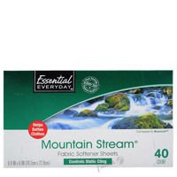 Essential Everyday Mountain Stream 40 szt. - Chusteczki do suszarek