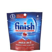 Finish Max in 1 Plus 4 szt. - Tabletki do zmywarek