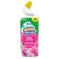 Scrubbing Bubbles Fresh Action Floral Fusion 710 ml - Żel do WC