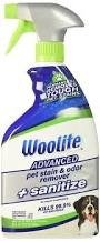 Woolite Advanced Pet Stain & Odor Remover + Sanitize 650 ml - Odplamiacz do dywanów i tapicerek
