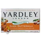 Yardley Shea & Buttermilk120 g - Mydło w kostce