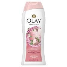 Olay Fresh Outlast Cooling White Strawberry & Mint Body Wash 400 ml - Żel pod prysznic