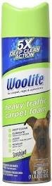 Woolite Heavy Traffic Carpet Foam 623 g - Spray do dywanów